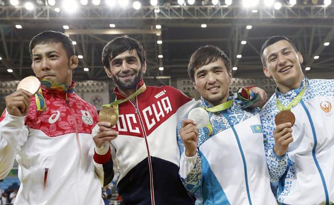 некоторых олимпиада 2016 первые медали хочу тебе