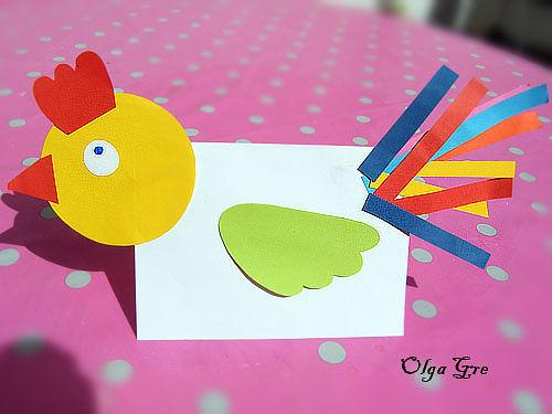 Поделки из цветной бумаги для детей от 3х лет9