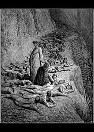 Иллюстрация к Божественной комедии Данте