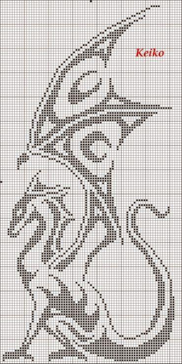 Схема вышивки год дракона фото 749