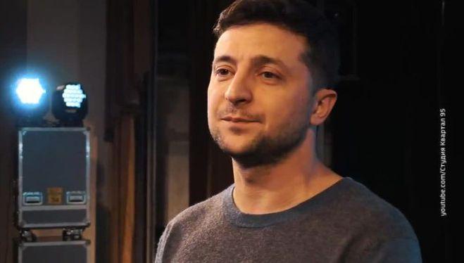 Зеленский, выборы президента Украины, кандидат в президенты Украины