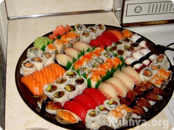 Делаем суши дома рецепты с фото