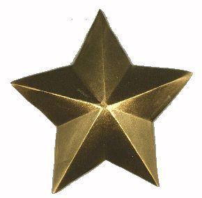 звезда из фольги