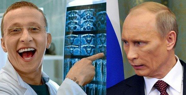 Путин подарил часы Охлобыстину