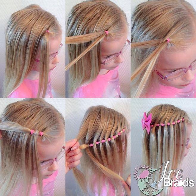 Как делать детские прически для девочек на короткие волосы
