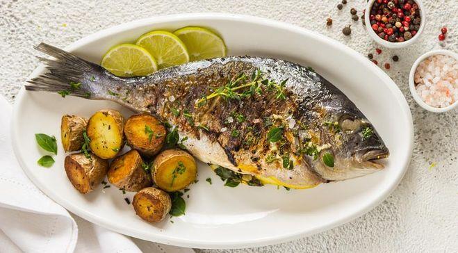 рыба на гриле с молодой картошкой рецепт