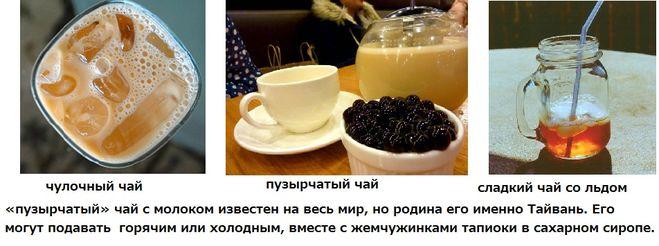 Чай с тапиокой рецепт