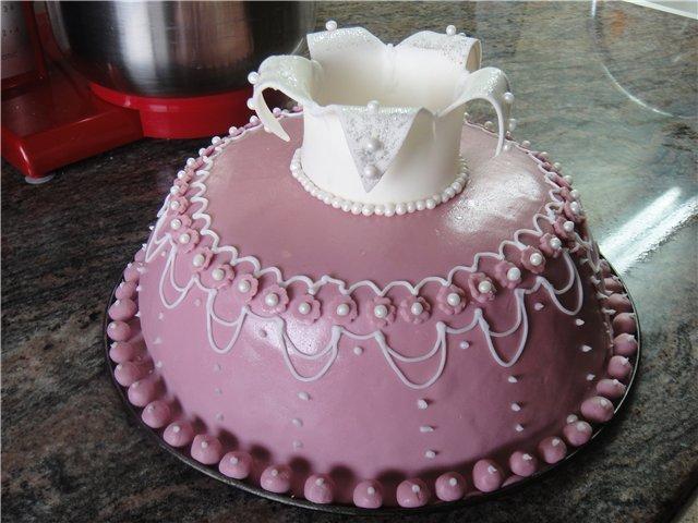 Корону для торта  рецепты 180