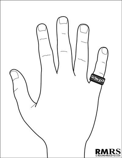 Кольца на мизинец геи