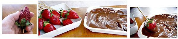 букет из клубники в шоколаде своими руками мастер-класс