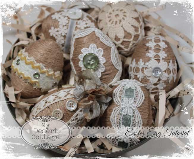 Пасхальные яйцо мастер класс