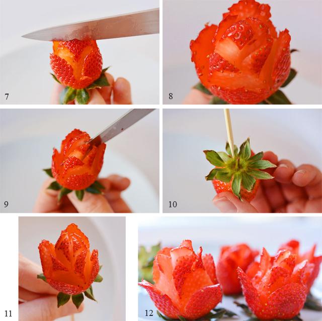 Как сделать букет из клубники своими руками для начинающих фото пошагово 67