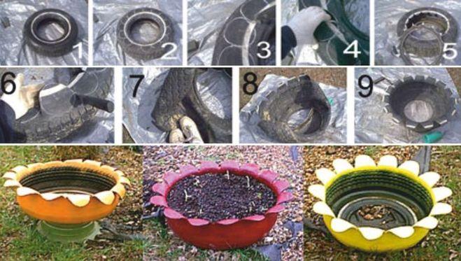 Как украсить зимой двор своими руками