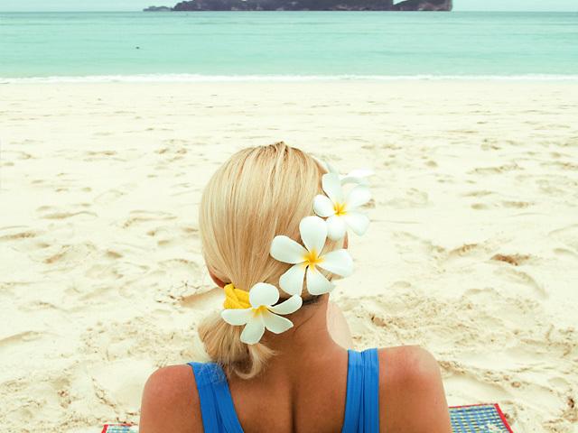 Прически для пляжной фотосессии