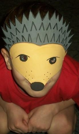 Разукрасить маску своими руками для ребенка 98