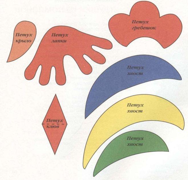 Как сделать гребешок петуха своими руками