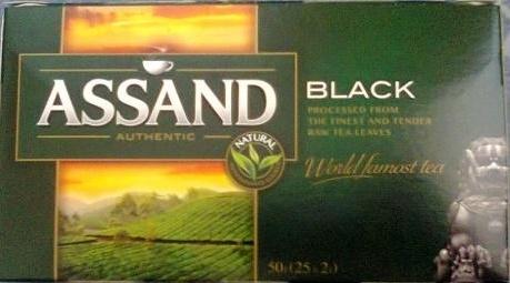 Черный чай марки