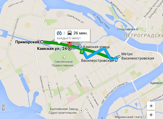 Ленгипротранс как доехать от станции метро приморская