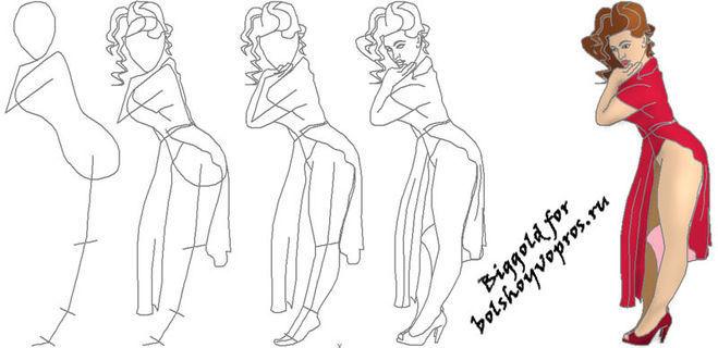 Как нарисовать рисунок для девочки 10 лет