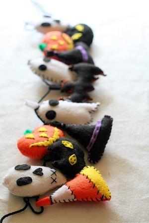 Гирлянда на Хэллоуин своими руками фото видео