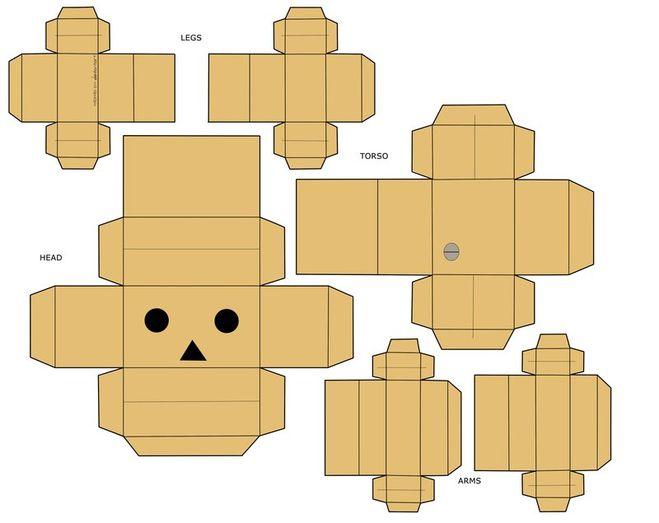 Робот из картона своими руками фото 587