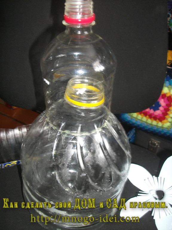 Лиса из бутылки своими руками 26