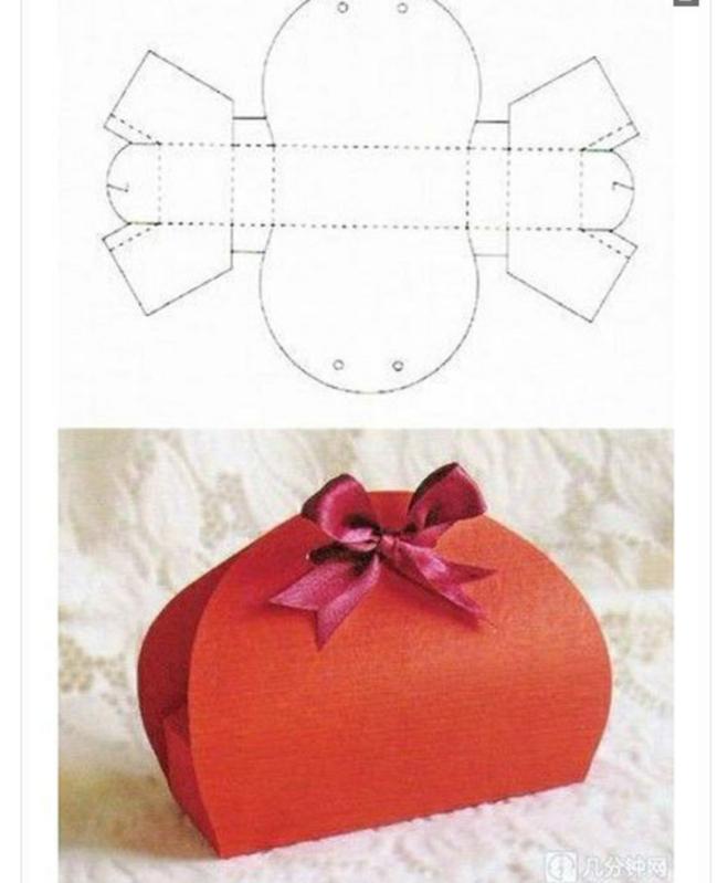 Сделать коробочку для подарков своими руками