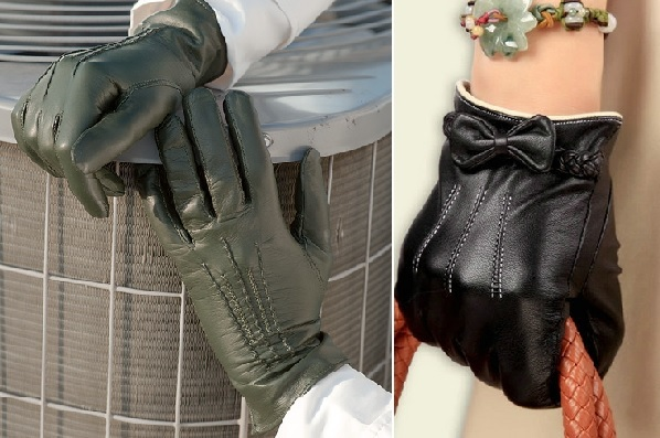 как стирать перчатки из кожи