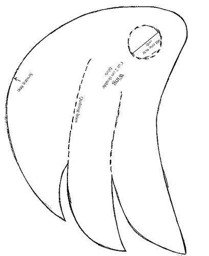 Петух из своими руками выкройки рисунки