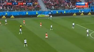Футбол ЧМ-2018, Россия- Египет, итог игры, голы