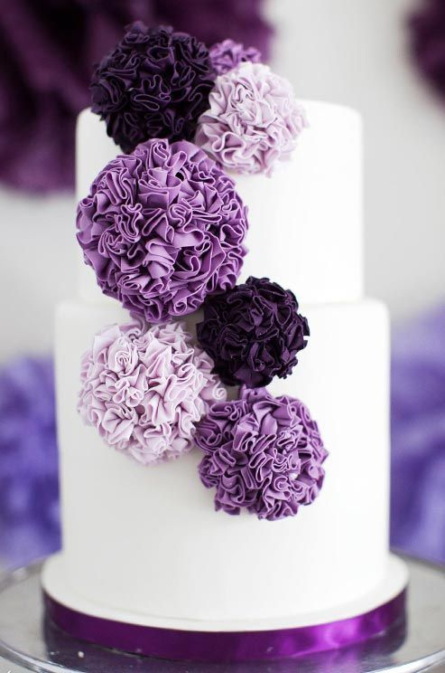 рюши-цветы