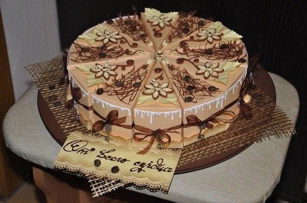 Торт бумажный своими руками