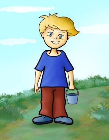 Как нарисовать мальчика.