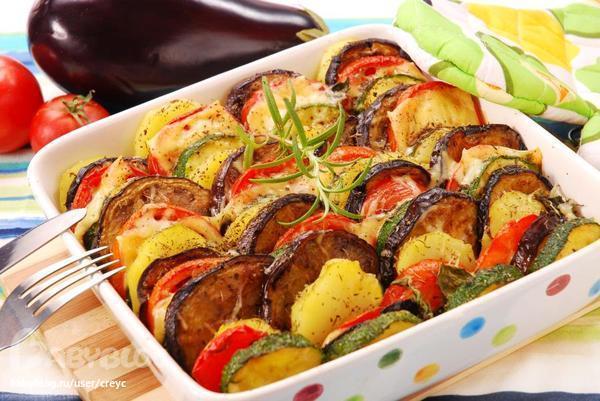Печеные баклажаны в духовке рецепт с фото