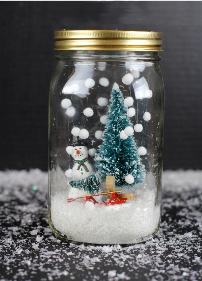 Как сделать снежки на новый год своими руками
