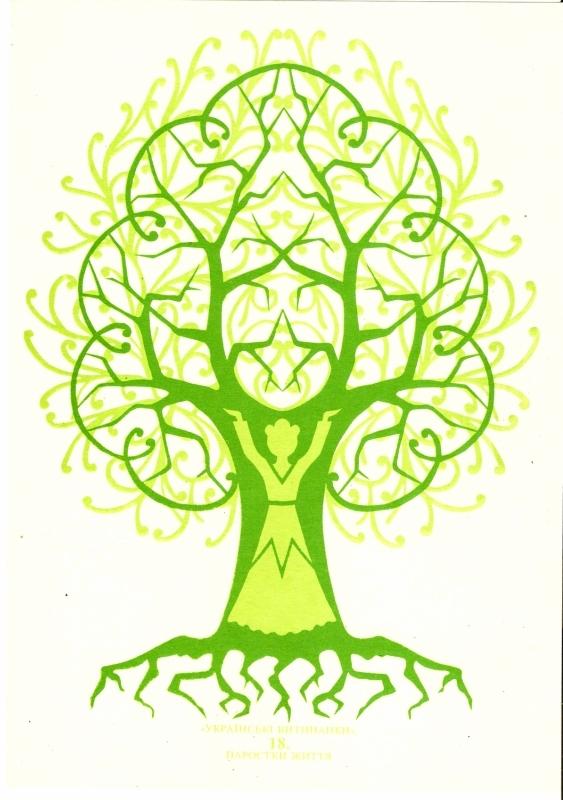 вытынанка дерево, дерево жизни