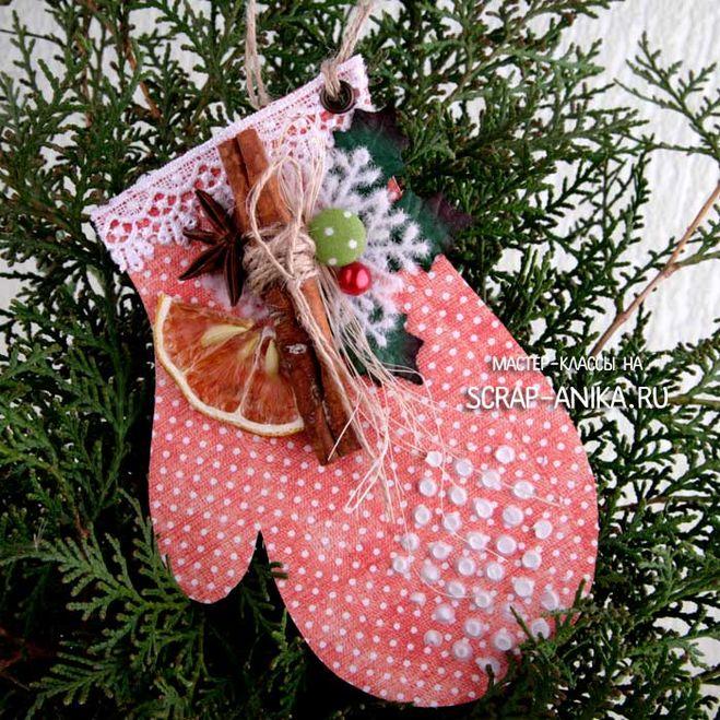 Варежка на елку своими руками фото 304