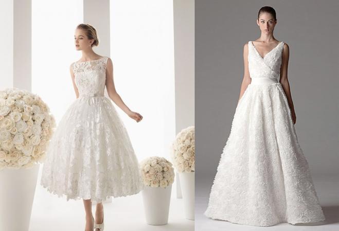 Свадебное платье для треугольника