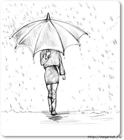 Рисунки для девушек карандашом на бумаге