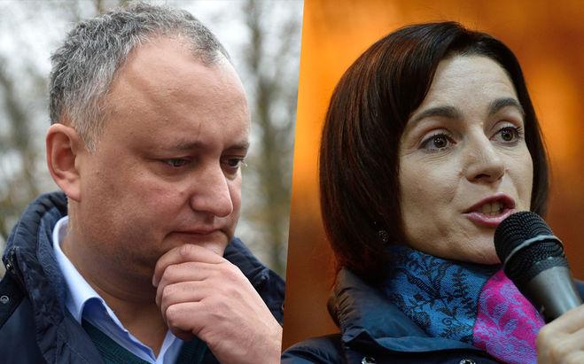Кто станет президентом Молдовы в 2016 году: Игорь Додон или Маяй Санду?
