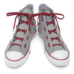 Как красиво завязать шнурки на кедах