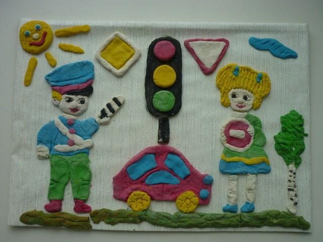 Поделка своими руками на тему правила дорожного движения