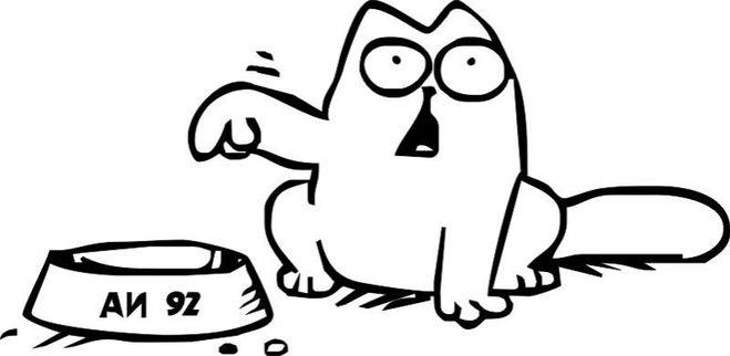 Мультики про белого кота саймона