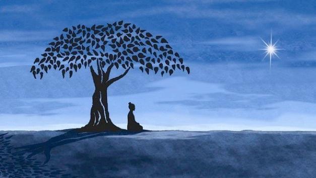 Будущий Будда медитирует