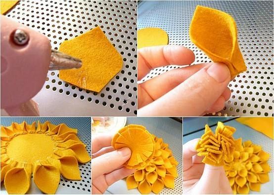 Как сделать цветы