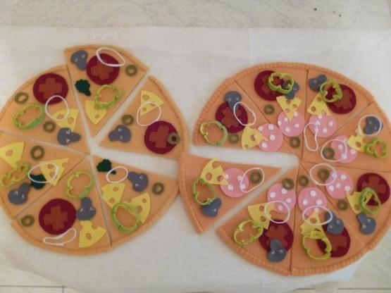 Как сшить пиццу из ткани 3