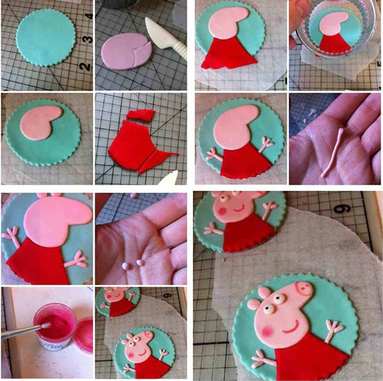 Торт из мастики свинка пеппа своими руками