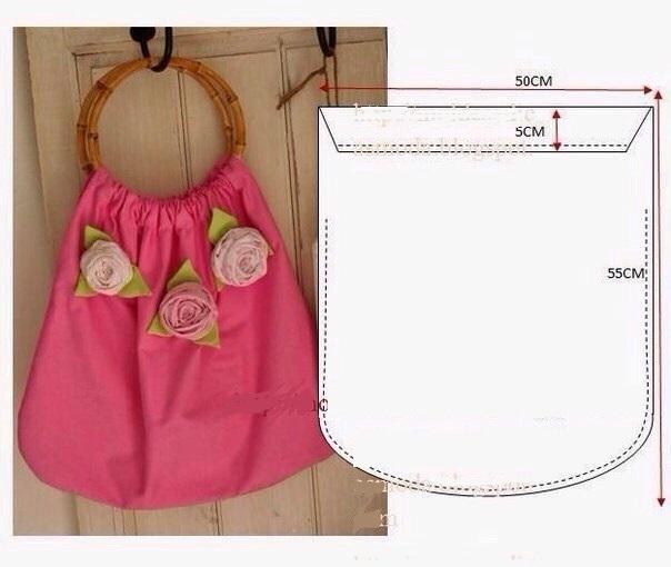 Простые сумки из ткани