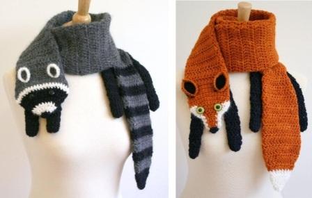 Чтобы связать шарф ребенку,