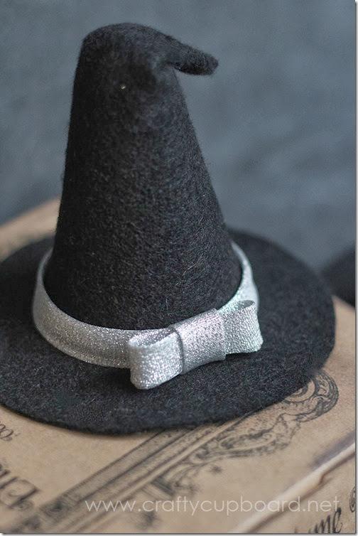 Как сделать шапку ведьмы из фетра на Хэллоуин